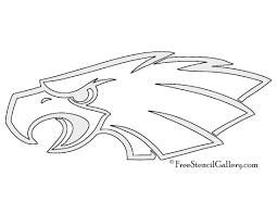 nfl philadelphia eagles stencil free stencil gallery