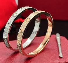 bangle bracelet with crystal images Cartier 18k white gold love diamond ceramic bangle bracelet jpg