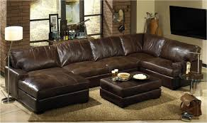 Aniline Leather Sofa Sale Harrison Modern Loft Sofa Chaise Sectional Right Saddle Aniline