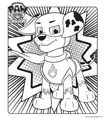 paw patrol super pups download coloring pages printable