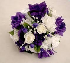 purple wedding bouquets purple wedding flowers purple wedding bouquet silk bouquet