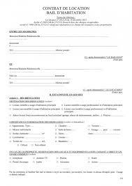 contrat location chambre chez l habitant bail chambre meublee chez l habitant contrat de location imprimer