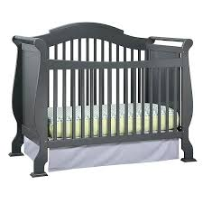 Convertible Sleigh Bed Crib Convertible Sleigh Bed Crib Stork Craft Convertible Crib Gray Bed