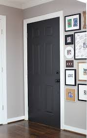 behr black suede painted door 7th house on the left diy life