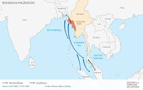 Bay Of Bengal Map What Forces Are Fueling Myanmar U0027s Rohingya Crisis