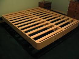 bed frames build your own bed frame how to make a storage bed