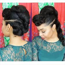 black bun hairstyles vissa studios natural celebrity hair natural black hair part 2