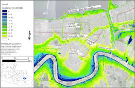 New Orleans Flood Zone Map by New Orleans Coastal Processes Hazards And Society
