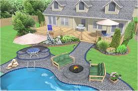 landscape design around inground pools best of landscaping ideas