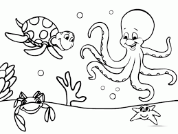 coloring pages online to print of the ocen coloring home