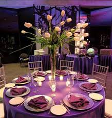 table decoration for wedding party purple table decoration idea for a lovely wedding party