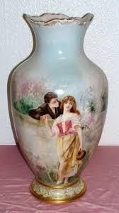 Antique Hand Painted Vases 1465 Best Vintage Vases Images On Pinterest Vintage Vases