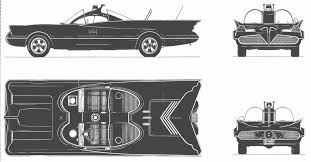 batmobile 1966 blueprint download free blueprint for 3d modeling