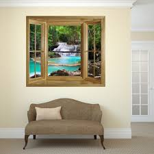 activities for elderly people with dementia and alzheimer s picture of through the window wall mural waterfall