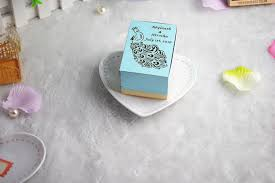 peacock wedding favors blue wedding favors promotion shop for promotional blue wedding