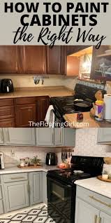 what is the best way to paint cabinet doors how to paint cabinets the right way in 2021 kitchen