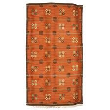 Modern Flat Weave Rugs Scandinavian Modern Wool Flat Weave Rug With Pattern On A Terra