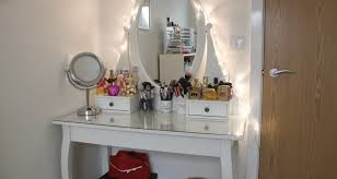 table makeup dresser with mirror 5 trendy interior or bedroom