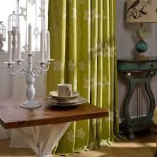 decoration ideas retro home interior design with long green star