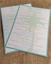 Programs For Weddings 25 Best Wedding Welcome Letters Ideas On Pinterest Destination