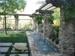 diy backyard stream diy outdoor stream how to build a stream with