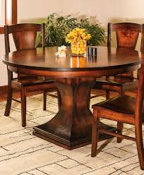 Westin Single Pedestal Dining Table Amish Direct Furniture - Amish dining room table