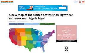 Usa Rainbow Flag These Major Websites Made Awesome Design Mods For Marriage