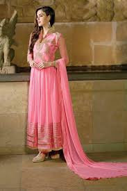 wedding wear dresses buy wedding indian anarkali salwar kamiz online anarkali in baby pink