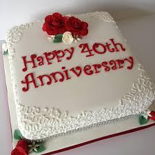 ruby wedding cakes ruby wedding anniversary cake ideas idea in 2017 wedding