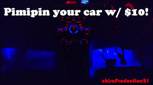 Car Modifications Interior How To Install 10 Interior Lights In Your Car D I Y Car Mods