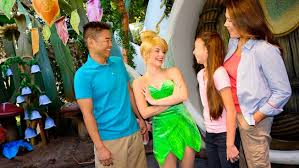 meet tinker bell pixie hollow disneyland resort