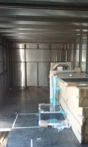 tiny house rv style shell steel frame w aluminum walls tiny