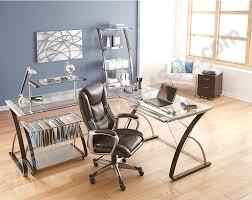 Realspace Computer Desk Realspace Merido Outlet L Shaped Desk 36 H X 82 1 2 W X 69 1 2 D