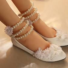 wedding shoes sandals ballet flats shoes women bridal shoes lace bridal flats wedding