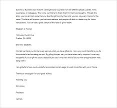 business thank you letter 10 free sle exle format