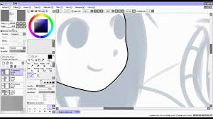 paint tool sai tutorial en español lineart youtube