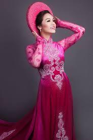 ao dai cuoi dep mẫu áo dài cưới đa màu sắc nổi bật cho cô dâu trong ngày cưới