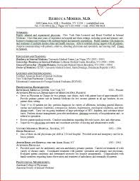 Job Resume Objectives by Amazing Medical Resume 55 On Good Resume Objectives With