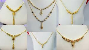 light chain necklace images Latest light weight gold chain necklaces designs for daily wear jpg