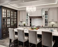 bar chandelier kitchen contemporary with glass cabinetry l listed