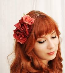 hair flowers wedding hair flowers