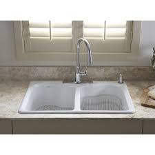Best Drop In Kitchen Sink Ideas On Pinterest Drop In Sink - Kohler double kitchen sink