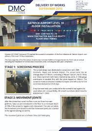 dmc contracts gatwick airport installation