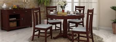 round dining room table sets dining table set online buy wooden dining table sets 60 off