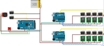programming arduino mega with two arduino unos as slaves via i2c