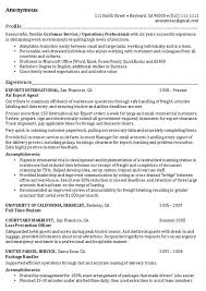 example professional resumes related free resume examples chief