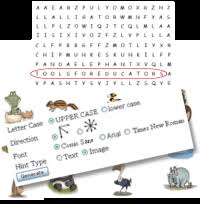free word search maker make personalized word search puzzles
