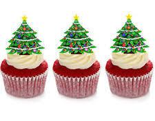 christmas cake decorations ebay