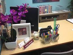 work desk decoration ideas home design ideas throughout cubicle