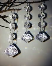 Party Chandelier Decoration by Popular Clear Wedding Crystal Chandelier Centerpieces Buy Cheap